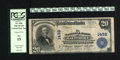 National Bank Notes:Maryland, Baltimore, MD - $20 1902 Plain Back Fr. 650 The NB Ch. # 1432. Theofficers are Delcher and Schoenewolf. PCGS Fine 15....