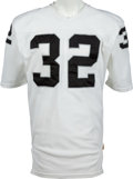 Football Collectibles:Uniforms, Circa 1982-84 Marcus Allen Game Worn Los Angeles Raiders Jersey, MEARS A8....