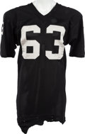 Football Collectibles:Uniforms, 1973-80 Gene Upshaw Game Worn Oakland Raiders Jersey, MEARS A9....