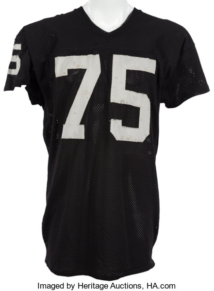 new product 7a47d 705a4 1981 Howie Long Game Worn Oakland Raiders Rookie Jersey ...