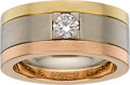Estate Jewelry:Rings, Cartier Diamond, Gold Ring. ...
