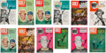 Golf Collectibles:Autographs, 1954-61 Sam Snead Signed Early Golf Digest Magazines Lot of 12....