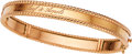 Estate Jewelry:Bracelets, Van Cleef & Arpels Pink Gold Bracelet. ...