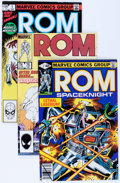 Modern Age (1980-Present):Superhero, Rom Group (Marvel, 1979-86) Condition: Average NM-.... (Total: 76Comic Books)