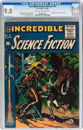 Golden Age (1938-1955):Science Fiction, Incredible Science Fiction #31 (EC, 1955) CGC VF/NM 9.0 Off-whiteto white pages....