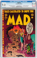 Golden Age (1938-1955):Humor, Mad #8 (EC, 1953) CGC VF/NM 9.0 Off-white to white pages....