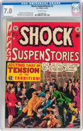 Golden Age (1938-1955):Horror, Shock SuspenStories #2 (EC, 1952) CGC FN/VF 7.0 Off-white pages....