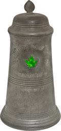 Golf Collectibles:Miscellaneous, 1902 Millbrook Golf Club Pewter Tankard Trophy....
