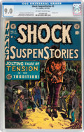 Golden Age (1938-1955):Horror, Shock SuspenStories #5 (EC, 1952) CGC VF/NM 9.0 Off-white to whitepages....