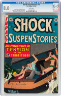 Golden Age (1938-1955):Horror, Shock SuspenStories #11 (EC, 1953) CGC VF 8.0 White pages....