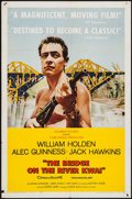 "Movie Posters:War, The Bridge on the River Kwai (Columbia, 1958). One Sheet (27"" X41""). War.. ..."