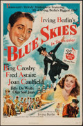 "Movie Posters:Musical, Blue Skies (Paramount, 1946). One Sheet (27"" X 41""). Musical.. ..."