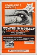 "Movie Posters:Adult, Immoral Tales (Cinema Center, 1974). Australian One Sheet (26.75"" X 40""). Adult.. ..."