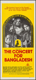 "Movie Posters:Rock and Roll, The Concert for Bangladesh (20th Century Fox, 1972). AustralianDaybill (13.25"" X 30""). Rock and Roll.. ..."