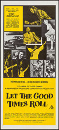 "Movie Posters:Rock and Roll, Let the Good Times Roll (Columbia, 1973). Australian Daybill (13.5""X 30""). Rock and Roll.. ..."
