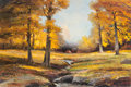 Texas:Early Texas Art - Regionalists, ROBERT WILLIAM WOOD (American, 1889-1979). Autumn Gold. Oilon canvas. 24 x 36 inches (61.0 x 91.4 cm). Signed lower lef...