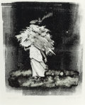 Texas:Early Texas Art - Drawings & Prints, KELLY FEARING (American, 1918-2011). From India, 1981.Monoprint on coaterd Karma paper. 10-1/2 x 8-1/2 inches (26.7 x2...