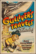 "Movie Posters:Animation, Gulliver's Travels (Paramount, 1939). Other Company One Sheet (27""X 41""). Animation.. ..."