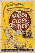 """Movie Posters:Sports, The Harlem Globetrotters (Columbia, 1951). One Sheet (27"""" X 41""""). Sports.. ..."""