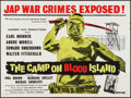 "Movie Posters:War, The Camp on Blood Island (Columbia, 1958). British Quad (30"" X40""). War.. ..."