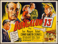 "Movie Posters:Mystery, Bungalow 13 (20th Century Fox, 1949). British Quad (30"" X 40"").Mystery.. ..."