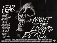 "Night of the Living Dead (Monarch, 1968). British Quad (29.75"" X 39.75""). Horror"