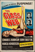 """Movie Posters:Crime, The Glass Web (Universal International, 1953). One Sheet (27"""" X41""""). Crime.. ..."""