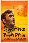 "Movie Posters:War, The Purple Plain (Rank, 1954). British One Sheet (27"" X 41""). War....."