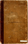 Books:Maps & Atlases, [Maps]. Eugene Moore, et al. Bound Insurance Maps of Johnstown. New York: Sanborn, 1902. Folio. Half-bound with paper-covere...