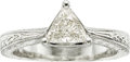 Estate Jewelry:Rings, Judith Anderson Diamond, Platinum Ring. ...