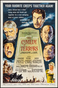 "Movie Posters:Horror, The Comedy of Terrors (American International, 1964). One Sheet (27"" X 41""). Horror.. ..."