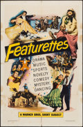 "Movie Posters:Short Subject, Warner Brothers Featurettes Stock (Warner Brothers, 1951). OneSheet (27"" X 41""). Short Subject.. ..."