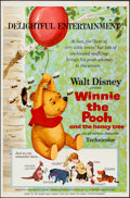 "Movie Posters:Animated, Winnie the Pooh and the Honey Tree (Buena Vista, 1966). One Sheet(27"" X 41""). Animated.. ..."