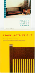 Books:Art & Architecture, [Architecture]. Pair of Wrappered Publications about the Work of Frank Lloyd Wright. Various publishers, 1989-1993. Quarto o...