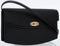 Luxury Accessories:Bags, Louis Vuitton Black Epi Leather Presbourg Shoulder Bag . ...