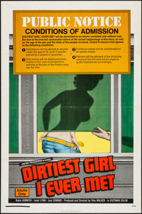 "The Dirtiest Girl I Ever Met & Other Lot (United Producers, 1972). One Sheets (2) (27"" X 41""). Sexploi..."