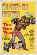 "Movie Posters:Adventure, The Gun Runners & Other Lot (United Artists, 1958). One Sheets(2) (27"" X 41""). Adventure.. ... (Total: 2 Items)"