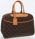 Luxury Accessories:Bags, Louis Vuitton Classic Monogram Canvas Deauville Bag . ...