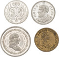 Political:Tokens & Medals, Henry Clay et al: Four Medals....