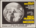 "Movie Posters:Thriller, Seconds (Paramount, 1966). Half Sheet (22"" X 28""). Thriller.. ..."