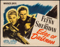 "Movie Posters:War, Edge of Darkness (Warner Brothers, 1943). Half Sheet (22"" X 28"")Style A. War.. ..."
