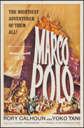"Movie Posters:Adventure, Marco Polo (American International, 1962). One Sheet (27"" X 41"")& Lobby Card Set of 8 (11"" X 14""). Adventure.. ... (Total: 9Items)"