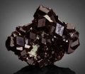 Minerals:Small Cabinet, GARNET. Ulanhad League, Chifeng Prefecture, Inner MongoliaAutonomous Region, China. ... (Total: 2 Items)
