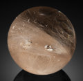 Lapidary Art:Eggs and Spheres, RUTILATED QUARTZ SPHERE . Bahia, Brazil. ...