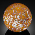 Lapidary Art:Eggs and Spheres, STONE CANYON JASPER SPHERE . Coalinga, California, USA. ...
