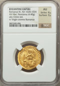 Ancients:Byzantine, Ancients: Romanus III Argyrus (1028-1034). AV histamenon nomisma(4.40 gm)....