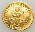 Ancients:Byzantine, Ancients: Romanus III Argyrus (1028-1034). AV histamenon nomisma(25mm, 4.39 gm, 7h). ...