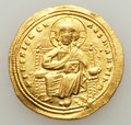 Ancients:Byzantine, Ancients: Romanus III Argyrus (1028-1034). AV histamenon nomisma (25mm, 4.38 gm, 6h). ...
