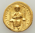 Ancients:Byzantine, Ancients: Romanus III Argyrus (1028-1034). AV histamenon nomisma (24mm, 4.34 gm, 6h). ...