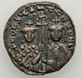 Ancients:Byzantine, Ancients: Constantine VII Porphyrogenitus (AD 913-959), with Zoe. Æfollis (6.99 gm)....